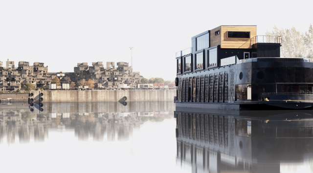 History Of Spa In The Old Port Of Montreal Bota Bota Spasurleau - Bota bota floating spa in montreal by sid lee architecture