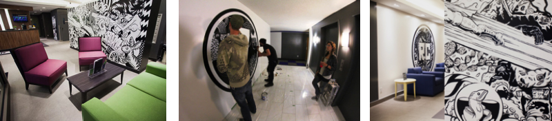 L 39 art de rue montr al bota bota spa montreal for Meuble a jeter montreal