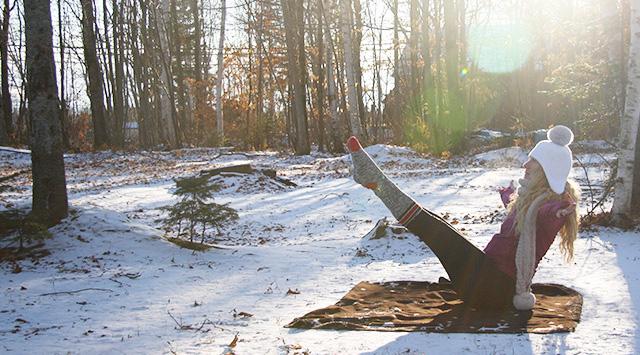 Yoga Neige