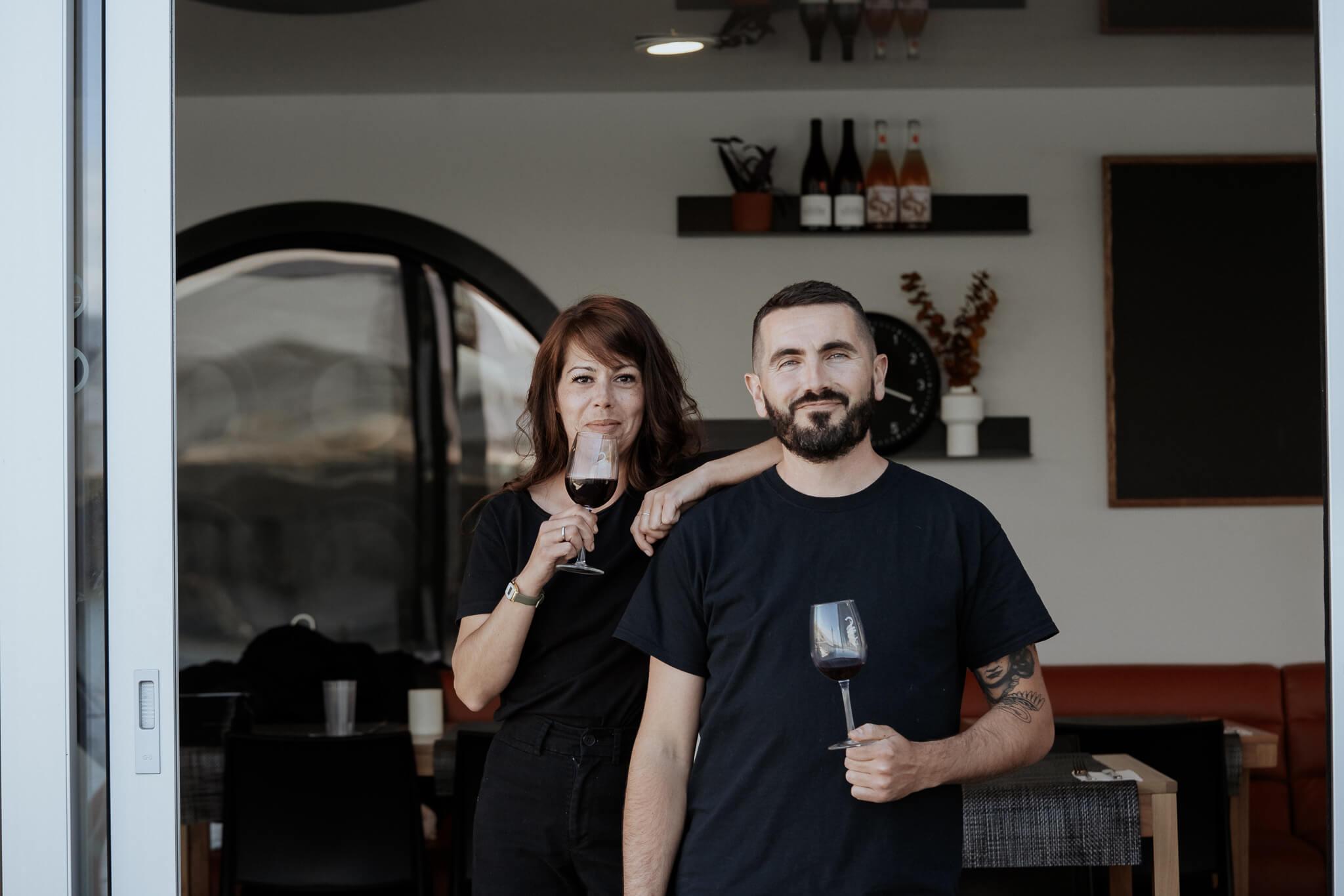 Rita-Adèle Beaulieu, cheffe cuisinière et Thomas Engasser, propriétaire de La Traversée au Bota Bota, spa-sur-l'eau