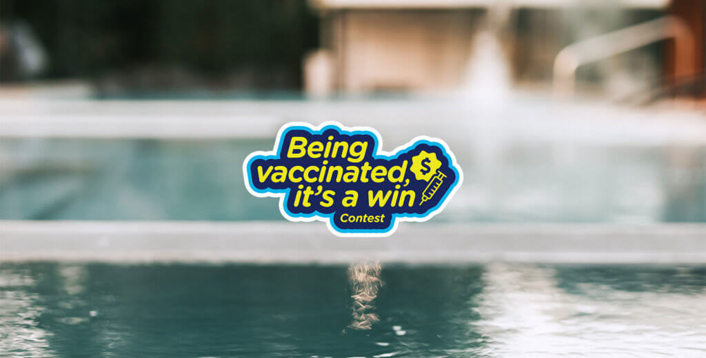 Bota Bota contributes to the Being vaccinated, it's a win contest